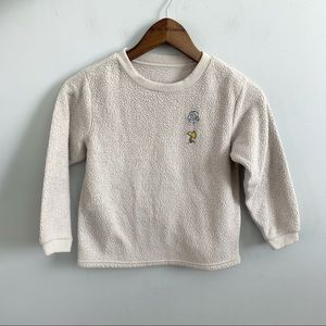 Vintage | Snoopy Woodstock Kids Pullover Sweater 6